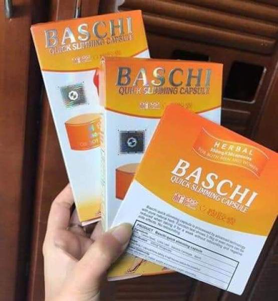 30 viên giảm cân baschi cam dạng vỉ - Hộp giấy