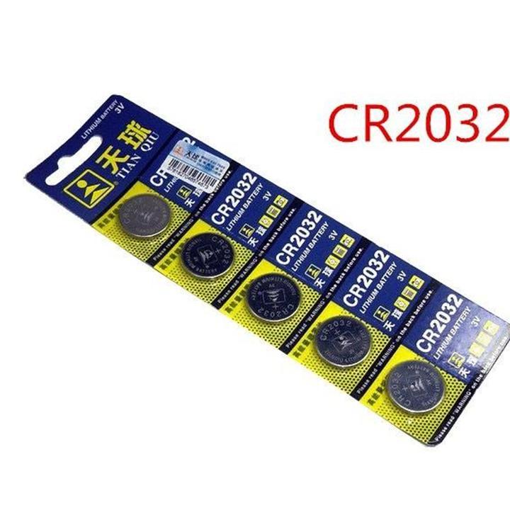 Mã Giảm Giá Pin Cmos CR2032 Vỉ 5 Viên