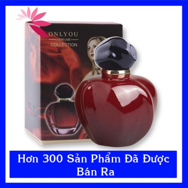 Nước hoa nữ táo đỏ ONLY YOU 30ml hàng nội địa cao cấp sang trọng, bí ẩn và đầy quyến rũ Nh22 tặng quà trị giá 30k.Mua 2 giảm 10% Fllow giảm 20k giá rẻ