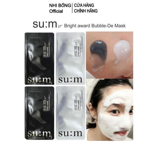 Mặt nạ Sum - Mặt Nạ Thải Độc Sum dưỡng trắng da Hàn Quốc 1 Miếng [Hàng Authentic Hàn Quốc] cao cấp