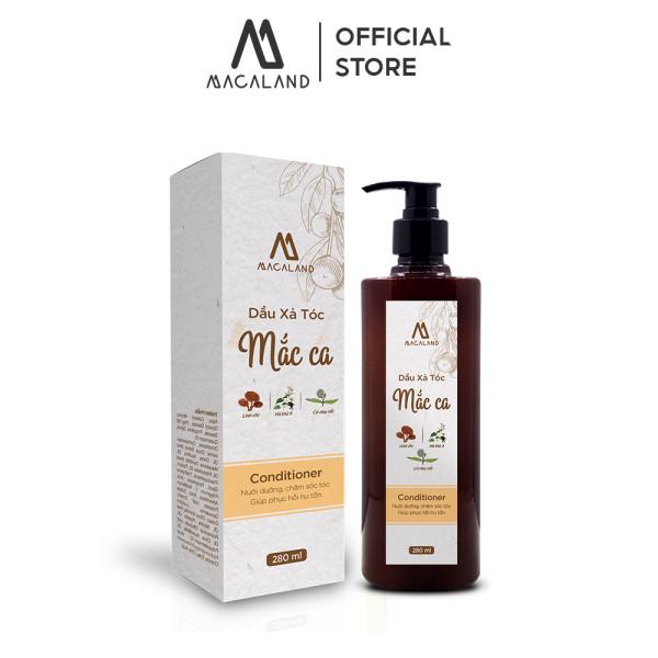 Dầu Xả tóc dầu Mắc Ca Macadamia MACALAND dưỡng tóc mềm mượt và phục hồi tóc chắc khỏe nhập khẩu