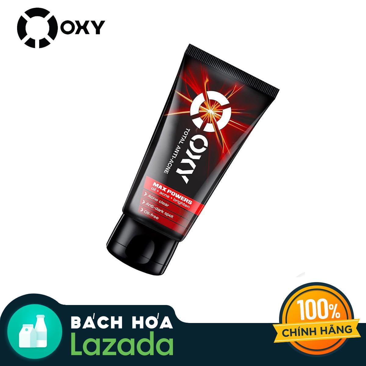 Kem Rửa Mặt Ngăn Ngừa Mụn Cho Nam OXY Total Anti Acne 100G