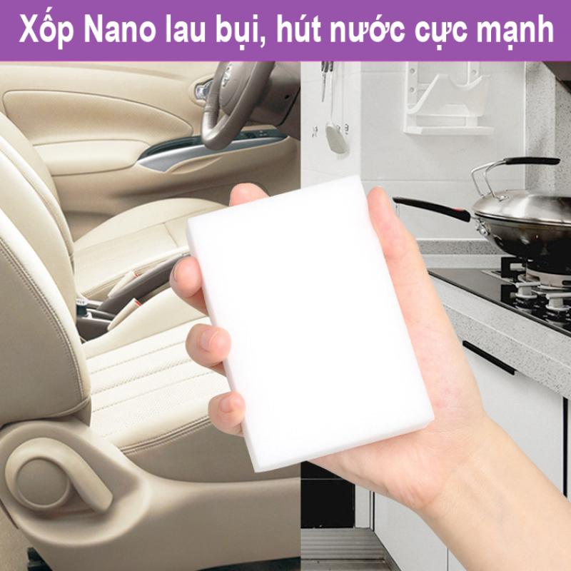Bọt biển nano lau xe, vệ sinh sạch bụi, hút nước mạnh