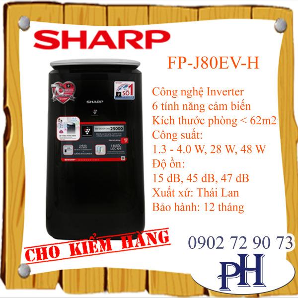 Máy lọc không khí Sharp  FP-J80EV-H