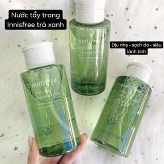Nước tẩy trang trà xanh Innisfree, Tẩy Trang An Toàn, Tẩy Trang Từ Tự Nhiên mẫu mới - Làm sạch sâu, kháng khuẩn, kháng viêm, kiểm soát dầu nhờn vô cùng hiệu quả. thumbnail
