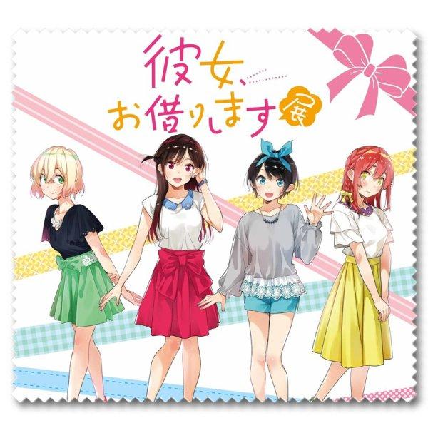 Giá bán Khăn lau kính Kanojo Okarishimasu DỊCH VỤ THUÊ BẠN GÁI anime chibi in hình đẹp