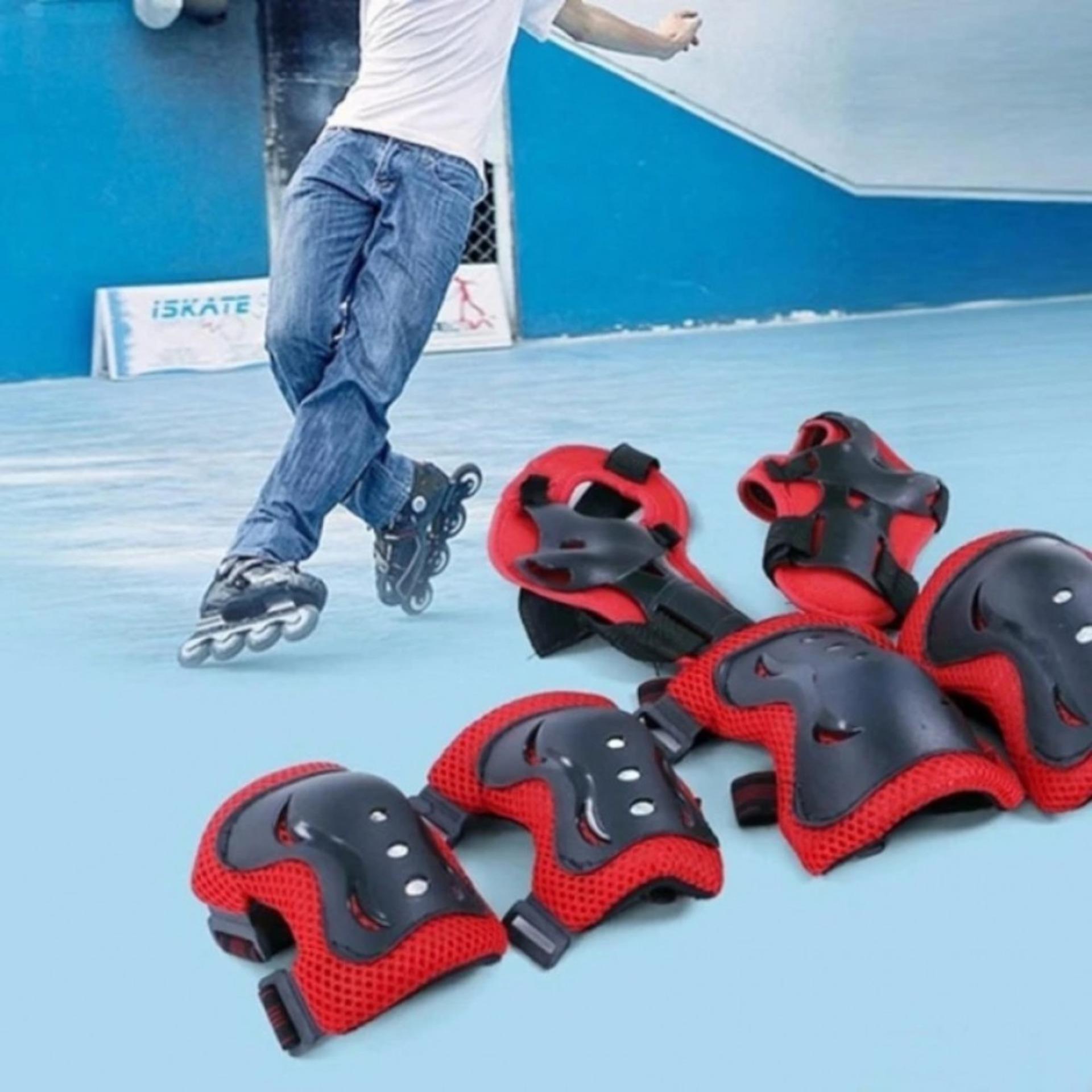 Mua BestMart Bảo vệ bé thể thao thao 4-12 tuổi (Nón+Bao tay chân)