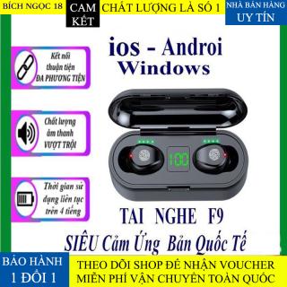 [BẢN QUỐC TẾ] Tai Nghe Bluetooth, Tai nghe không dây AMOI F9 TWS 5.0 9D, Cảm ứng chạm, Chống Nước, Chống Ồn, Nghe gọi rõ nét, dùng cho mọi loại điện thoại thumbnail