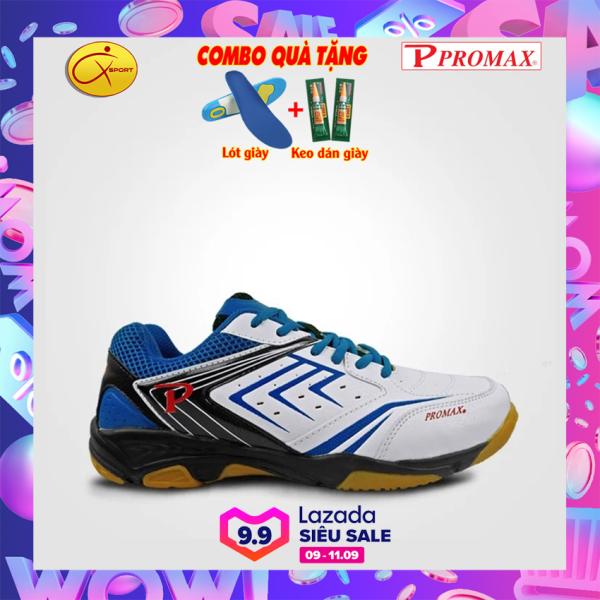 [Q-sport] Giày cầu lông Promax 19002, XPD, Động lực, đế kếp, chống trơn, chống trượt, ôm chân, bền- Giày cầu lông nam nữ- Giày bóng chuyền nam nữ- giày thể thao nam nữ
