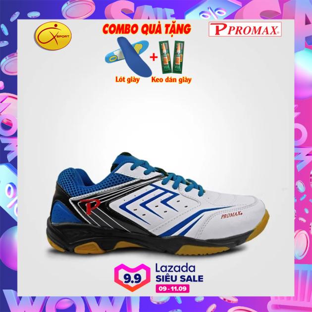 [Q-sport] Giày cầu lông Promax 19002, XPD, Động lực, đế kếp, chống trơn, chống trượt, ôm chân, bền- Giày cầu lông nam nữ- Giày bóng chuyền nam nữ- giày thể thao nam nữ giá rẻ