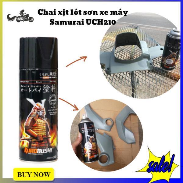 Sơn lót Samurai UCH210 (400ml) bước đệm cho màu sơn chuẩn hơn