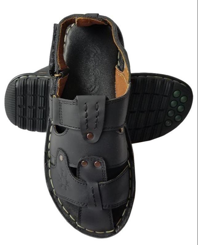 Giày Sandal Nam Bít Đầu Da Bò BIGBEN Cao Cấp SD006