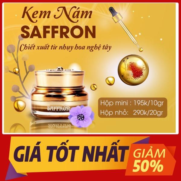 Kem nám saffron(40gm)[FREESHIP] tri nám.dưỡng trắng da. giá rẻ