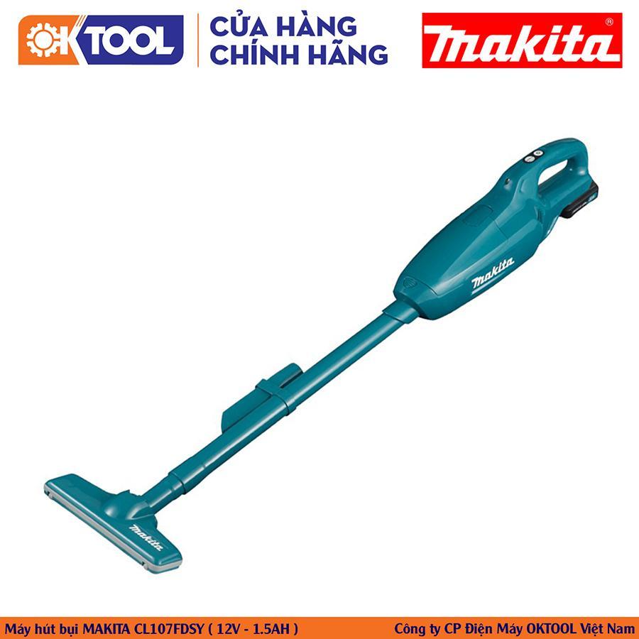 [Hàng Chính Hãng] Máy Hút Bụi Makita CL107FDSY (12V - 1.5AH)