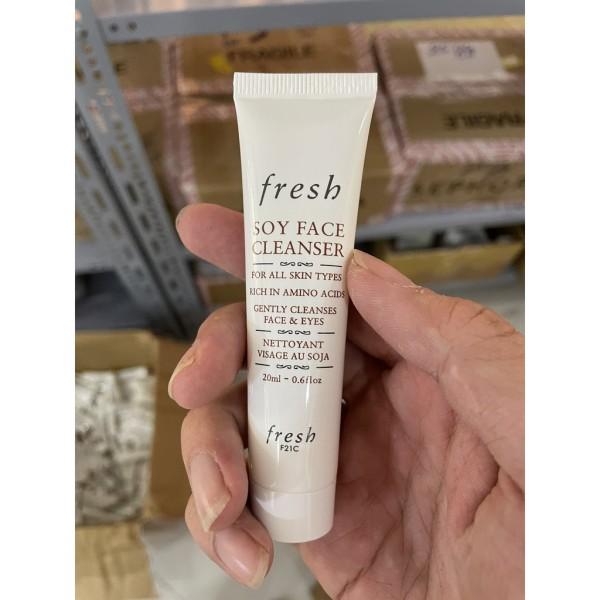 Sữa Rửa Mặt Đậu Nành Fresh Soy Face Cleanser For All Skin Types 20ml cao cấp