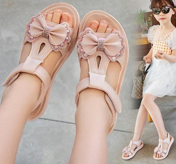Sandal cho bé gái Phong Cách Hàn Quốc từ 3 đến 14 tuổi S0026 giá rẻ