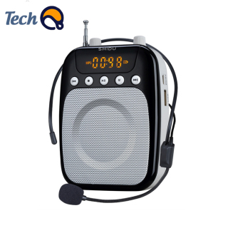 Loa trợ giảng đa năng SHIDU có kèm mic, máy trợ giảng cầm tay có dây màn hình kĩ thuật số, tích hợp FM, radio - Bảo hành 12 tháng thumbnail