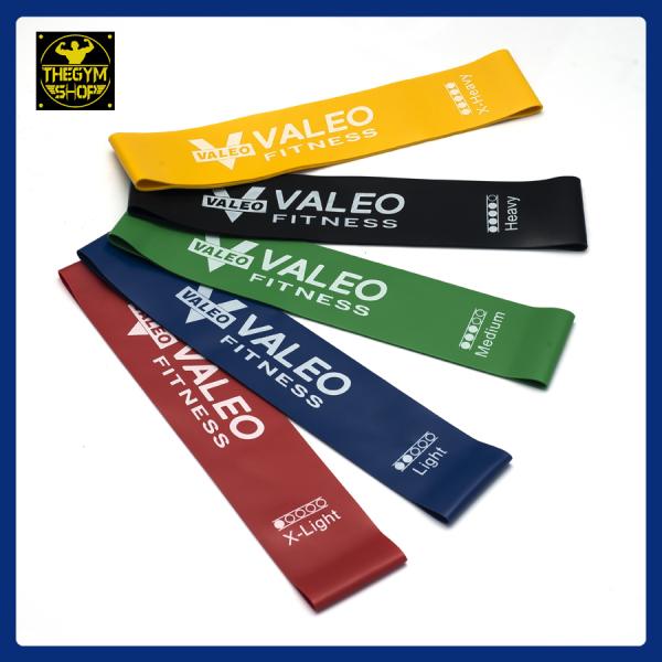 Dây kháng lực mini band Valeo Fitness dây cao su miniband hỗ trợ tập chân mông