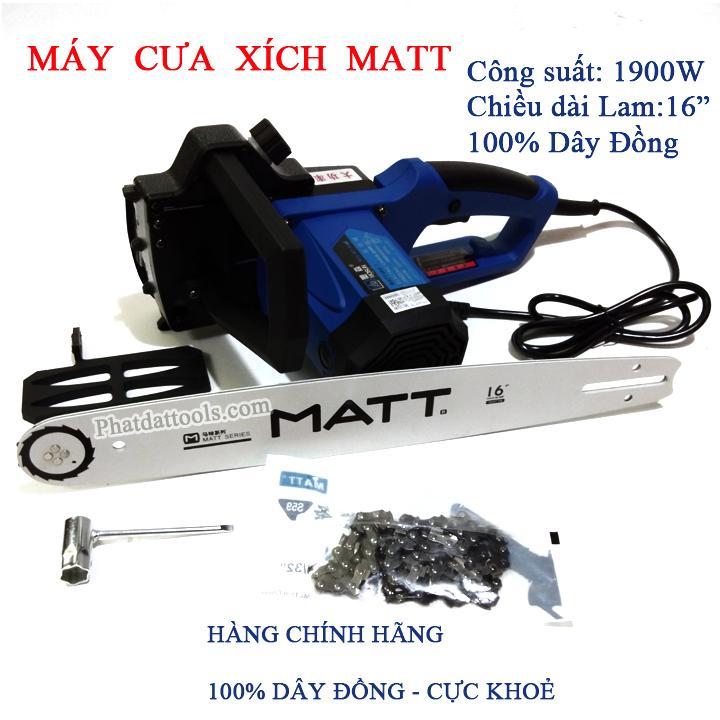 Máy cưa xích dùng điện MATT405-3 công suất cực khỏe