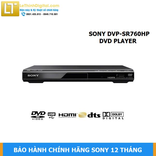 Bảng giá Đầu đĩa DVD Sony DVP-SR760HP - Hãng phân phối