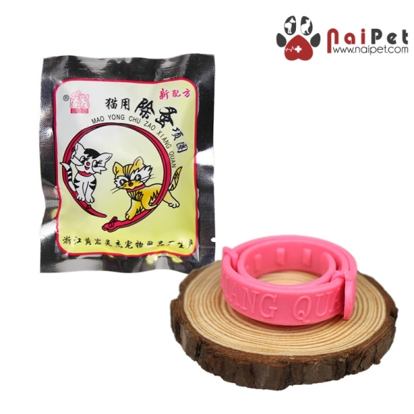 Vòng Cổ Chống Rận Ngăn Ngừa Diệt Ve Rận Bọ Chét VCR003 Cho Mèo