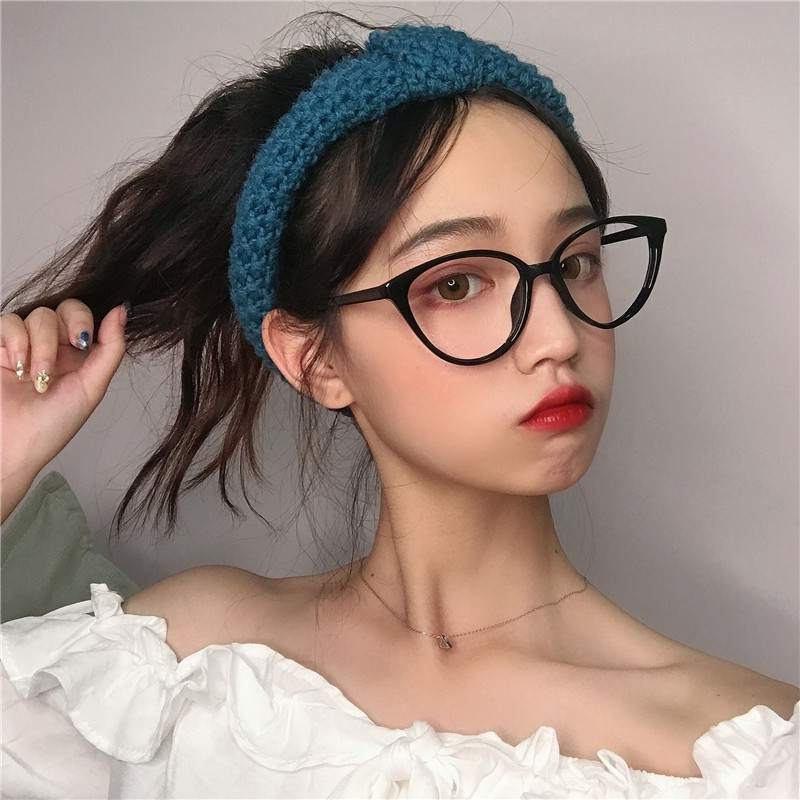 Giá bán Gọng kính mắt mèo mảnh nhựa đàn hồi cho nữ phong cách Hàn Quốc