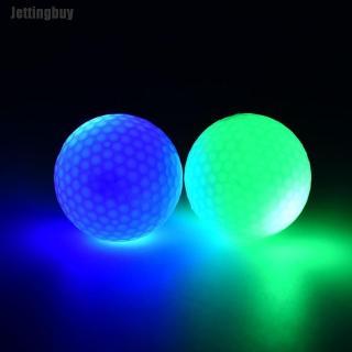 Bóng Golf Điện Tử Jettingbuy, Đèn LED Nhấp Nháy Màu Phát Sáng Làm Quà Tặng Chơi Gôn Ban Đêm thumbnail