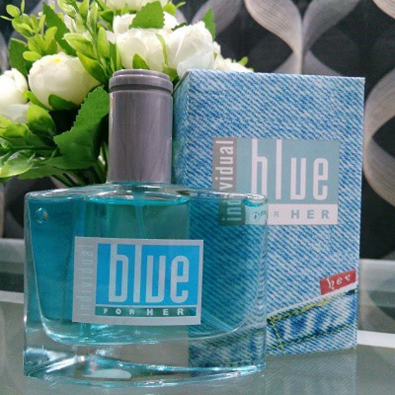 Bộ 10 Nước hoa nữ Blue for Him 50 ml hương thơm nồng nàn dạng chai thủy tinh xịt