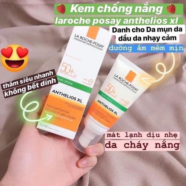 Kem Chống Nắng LA ROCHE POSAY Anthelios XL Dry Touch