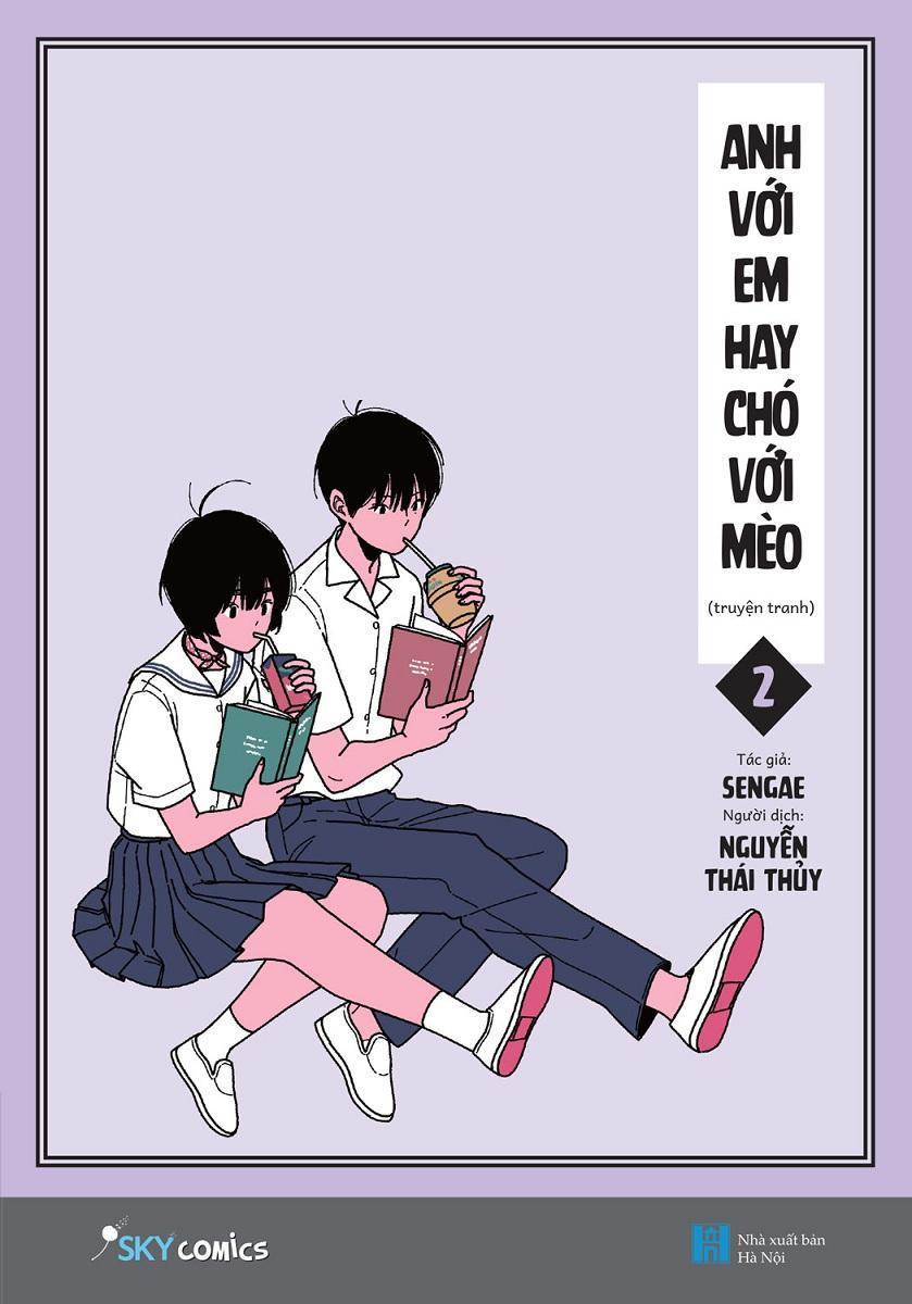 Anh Với Em Hay Chó Với Mèo - Tập 2 Tặng Kèm Bookmark Đang Ưu Đãi
