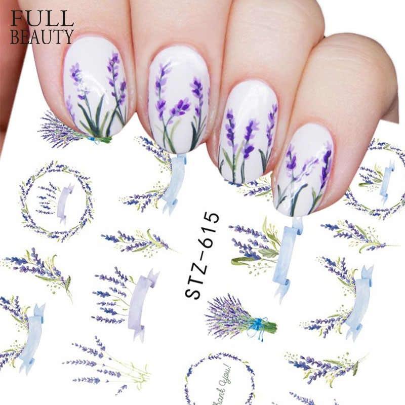 Set 5 tấm sticker nail hình xăm nước trang trí móng mã STZ608-STZ640 nhập khẩu