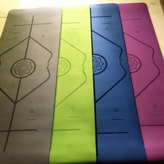 Thảm Tập Yoga Định Tuyến TPE 2 Lớp Dfay 8mm Chọn Màu miDoctor Chính Hãng Amalife Chọn Màu Chọn Độ Dày + Bao Thảm Tập Yoga + Dây Buộc Thảm Tập Yoga thumbnail
