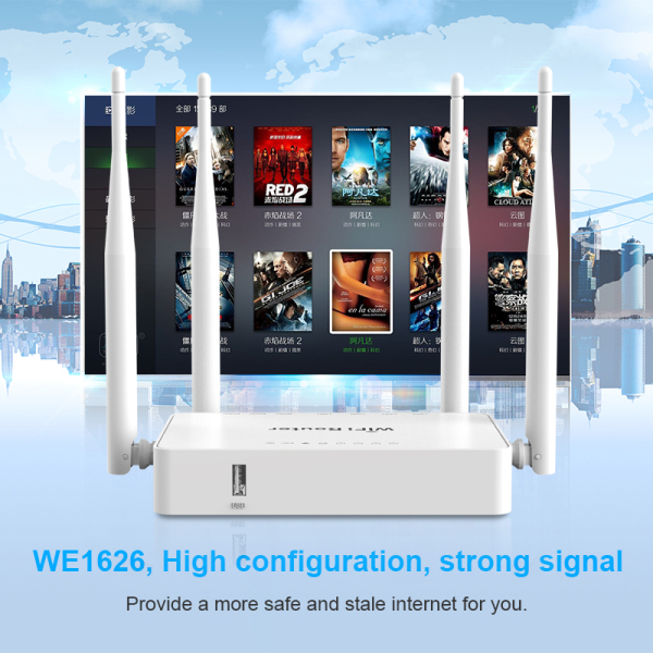 Bảng giá CIOSWI WE1626 300Mbps Wireless N Router | WiFi Router | Multiple Usage for Home Phong Vũ