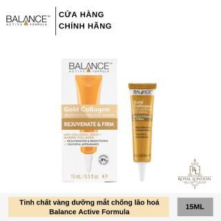 Serum Tái Tạo Và Dưỡng Da Mắt Balance Active Formula Gold Collagen Rejuvenating eye 15ml thumbnail