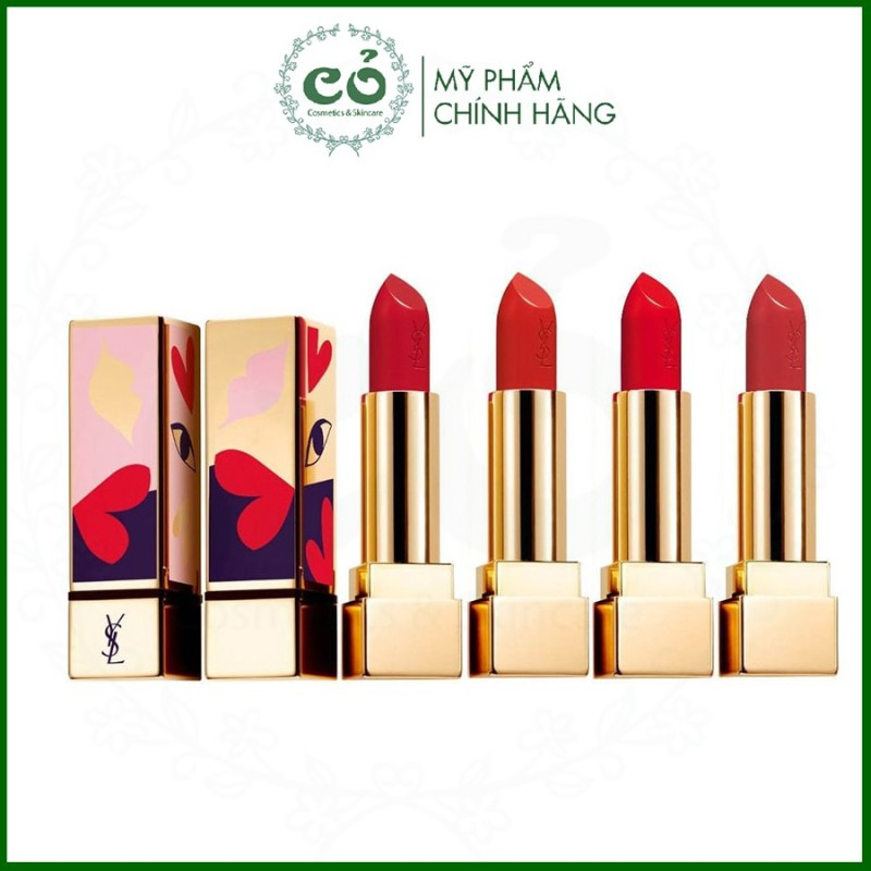 Son thỏi YSL Rouge Pur Couture #120 Take My Red Away (Limited Edition)