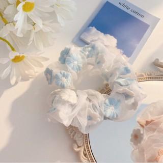 [GIÁ SẬP SÀN] Dây cột tóc vải Scrunchies Style Hàn Quốc hình hoa SoCiu thumbnail