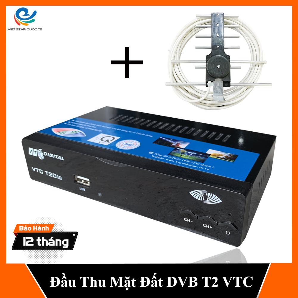 Bảng giá [ TẶNG ANTEN ] Đầu thu kỹ thuật số DVB T2-Dau thu truyen hinh mat dat Model VTC bảo hành 12 tháng, đổi mới trong 07 ngày Điện máy Pico