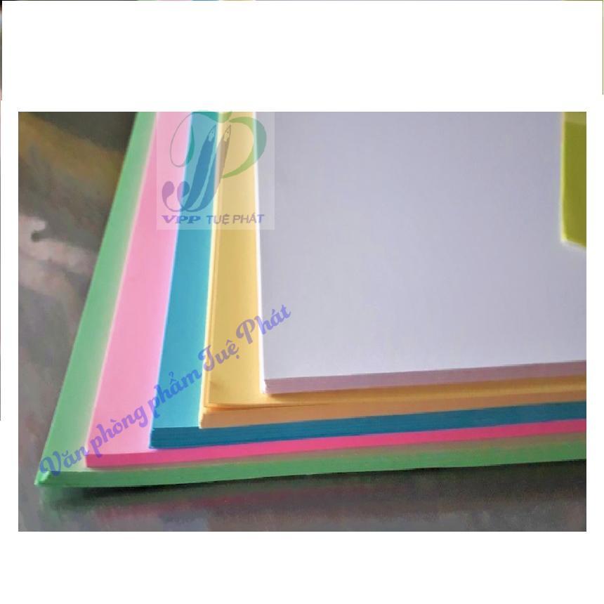 Mua Bìa cứng A4 5 màu (100 tờ/xấp)
