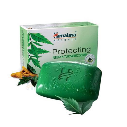 Xà phòng trị mụn lưng Himalaya neem và nghệ tây 75g