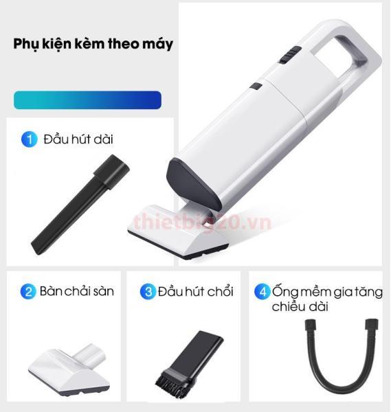 Bảng giá Máy hút bụi không dây cầm tay, lực hút cực khỏe (Pin sạc USB) Điện máy Pico