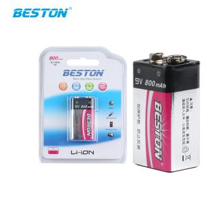 Pin sạc Lithium 9V 800mAh Boston - Pin micro, đồng hồ đo điện, máy nghe nhạc, đèn pin... thumbnail