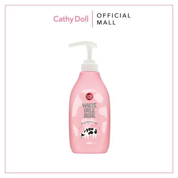 Kem Tắm Sữa Bò Cathy Doll White Milk Shine Body Bath Cream 450ml giá rẻ
