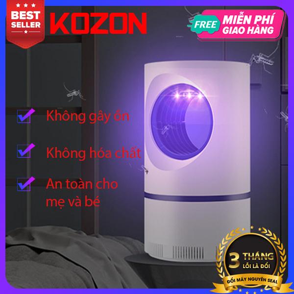 Máy bắt muỗi mini KOZON không hóa chất an toàn cho me và bé Bảo hành 3 tháng 1 đổi 1 Đèn bắt muỗi mini