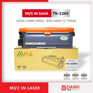 Hộp mực dùng cho máy in Brother HL L2321D, L2361DN, L2366DW MFC L2701D DW, DCP L2520D - Thương hiệu SAHA - TN-2385 thumbnail