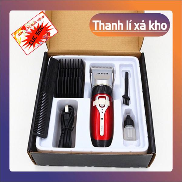 💖HOT💖 Tông đơ cắt tóc JiChen 0817 Cùng hộp phụ kiện tiện lợi , Cắt tóc trẻ em người lớn , Máy êm dịu , Ổn định, An Toàn , Bảo hành 6 tháng