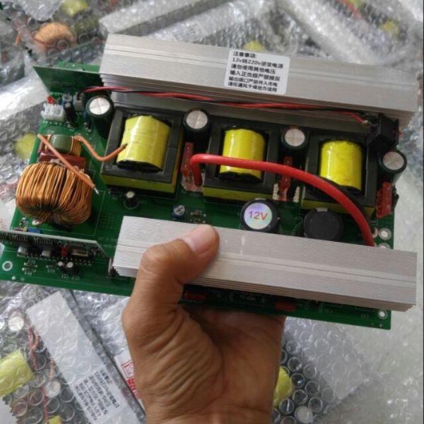 Bảng mạch 12v-220v sin chuẩn 3000w