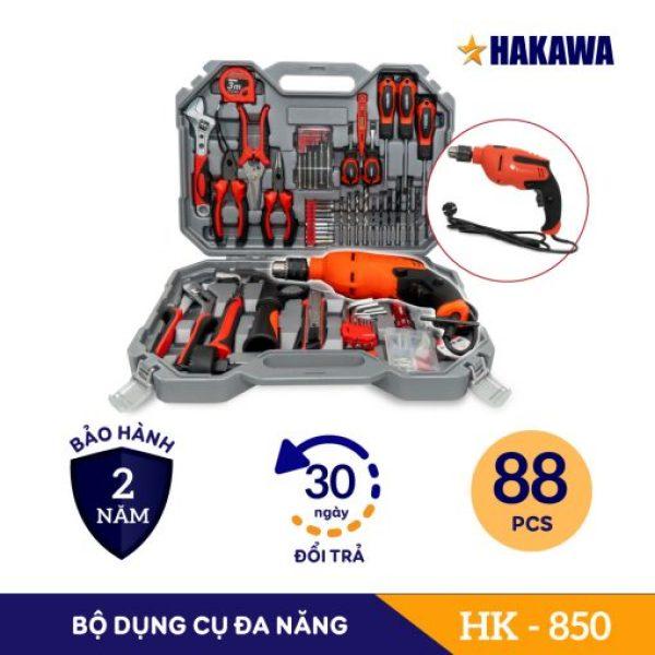 Bảo hành chính hãng 2 năm - Bộ dụng cụ sửa chữa đa năng HAKAWA HK-850