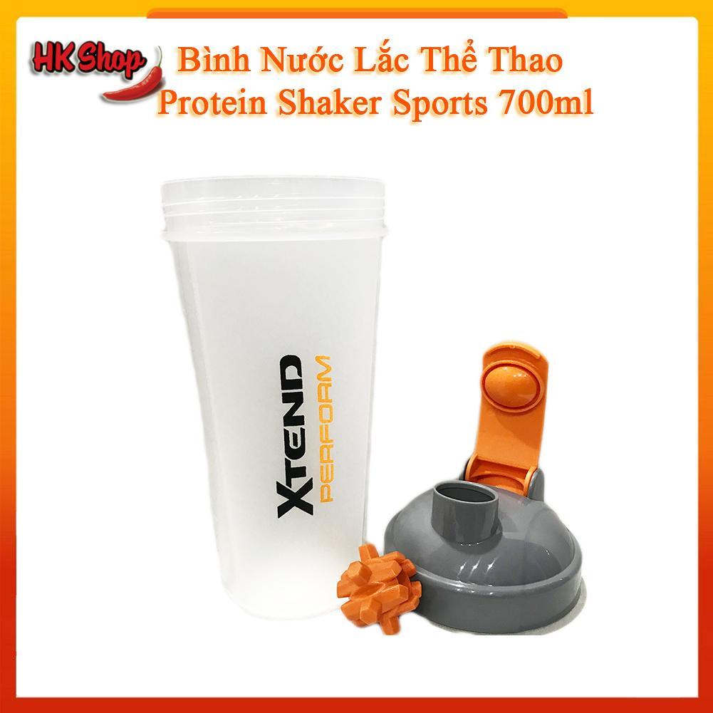 Bình nước lắc thể thao Protein Shaker Sports 700ml - Bình Lắc Tập Gym