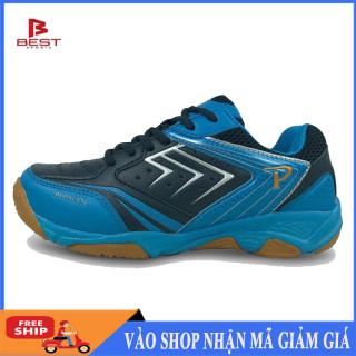 Giày thể thao promax 19002 màu xanh navy mẫu mới, giày cầu lông bóng chuyền chuyên nghiệp thumbnail