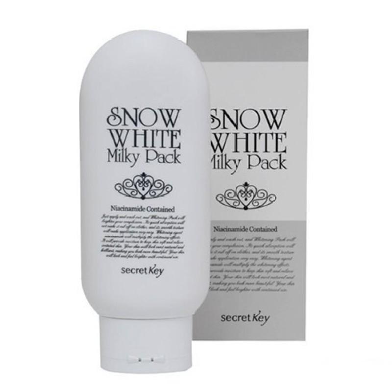 Kem Dưỡng Trắng Mặt Và Toàn Thân Secret Key Snow White Milky Pack 200g Frorence86 Store ( Dưỡng body)